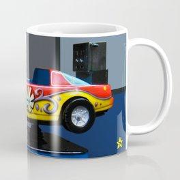 Butterfly Flower Car Kiddie Ride Coffee Mug