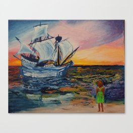 What it feels like to be found Canvas Print