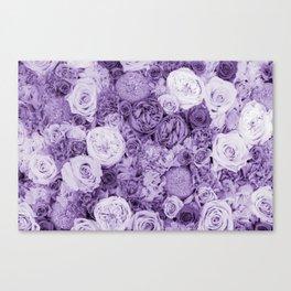 bouquet ver.purple Canvas Print