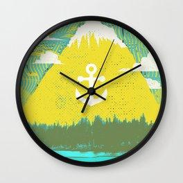 ANCHOR MOUNTAIN Wall Clock
