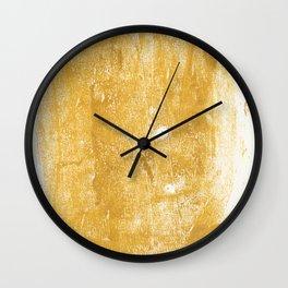 Gilded Wall Clock