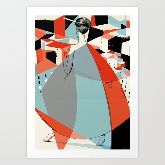 Architecture in Sight Art Print