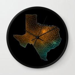 Texas StarStuff Wall Clock