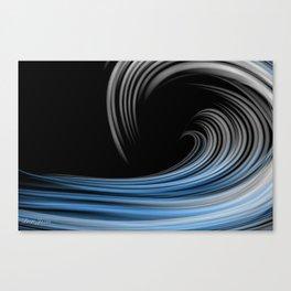 DT WAVE 8 Canvas Print