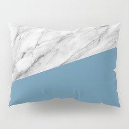 Marble and Niagara Color Pillow Sham