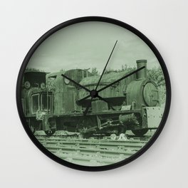 Rusting Tanks Wall Clock