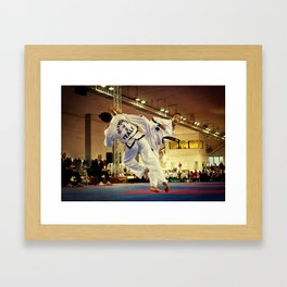 Traditional sparring - Taekwon-do ITF Framed Art Print