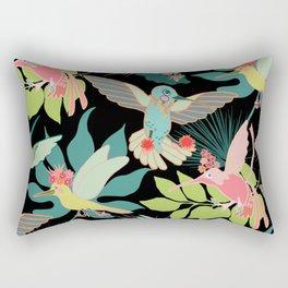 Hummingbird Paradise Rectangular Pillow