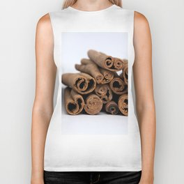 Cinnamon Spice - Kitchen Still Life Biker Tank