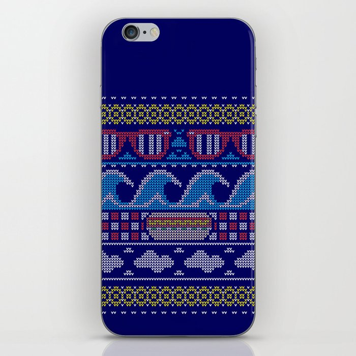 Ugly Summer Sweater iPhone Skin