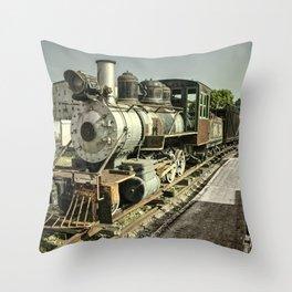 Havana Steamer Throw Pillow