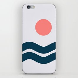 Nautical 06 No.2 iPhone Skin