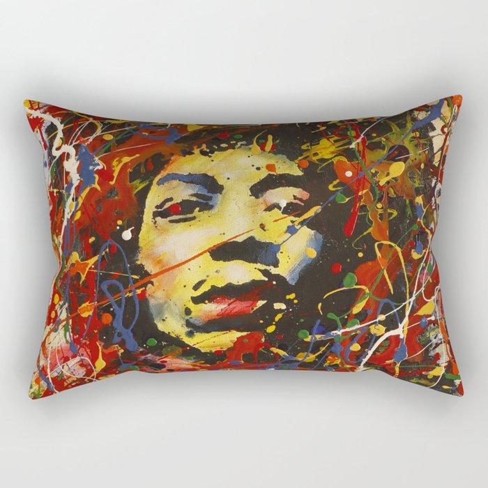 Jimi Hendrix Rectangular Pillow