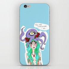 you are everywhere I go iPhone & iPod Skin