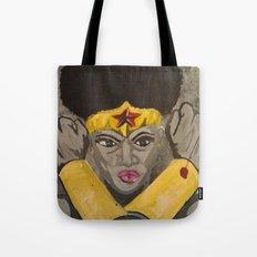 Ebony Wonder Tote Bag