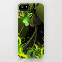 Malefica Poison Queen iPhone Case