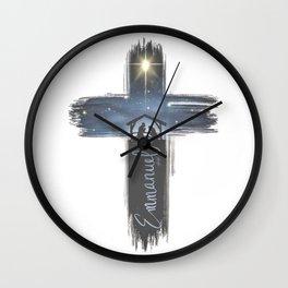Emmanuel Wall Clock