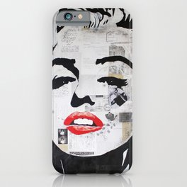 Marilyn «Fascination» iPhone Case