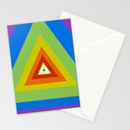 All Seeing, All Knowing Stationery Cards