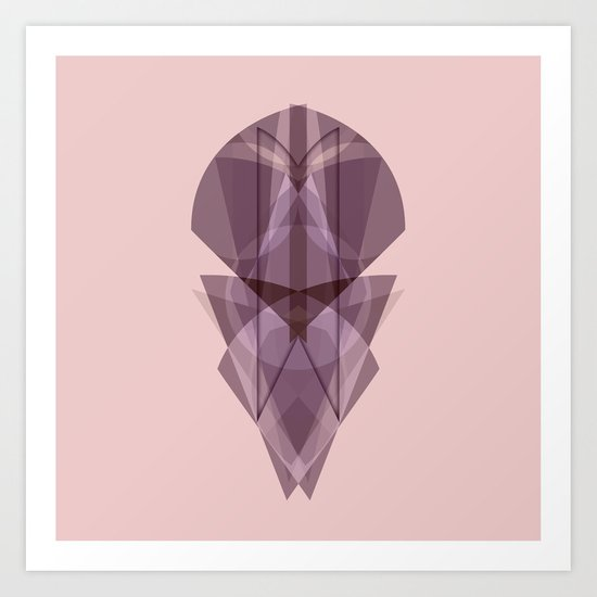 Glass Art Print