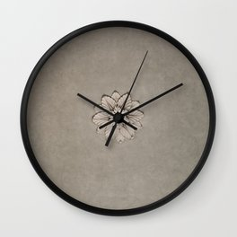 Flowers of Florence Wall Clock
