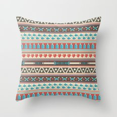 Fair-Hyle Knit Throw Pillow