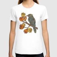 valentina T-shirts featuring Bravebird by Valentina Harper