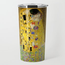 The Kiss by Klimt Travel Mug