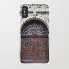 Dutch door iPhone X Slim Case