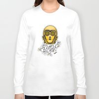 stay gold Long Sleeve T-shirts featuring Stay Gold by Amanda Marie Bell