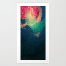 Now - sing Art Print