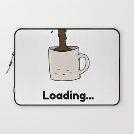Morning Cup of Coffee Laptop Sleeve