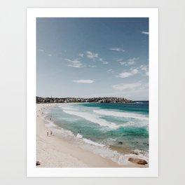 Bondi Beach Art Print Art Print