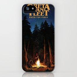 greta van fleet album from the fires iPhone Case