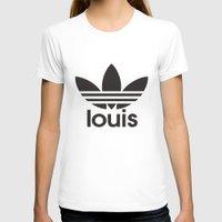 louis tomlinson T-shirts featuring Louis Tomlinson Adidas Logo by itzmiri