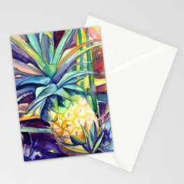 Kauai Pineapple 4 Stationery Cards