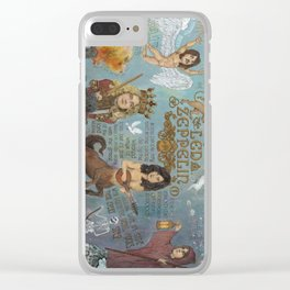 Zeppelin - In Days Of Old When Magic Filled The Air Clear iPhone Case