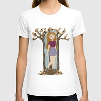 lydia martin T-shirts featuring Autumn Lydia by tashaliz