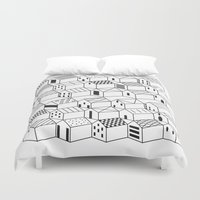 architect Duvet Covers featuring Architect and Little Houses by lllg