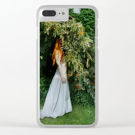 self portrait (marrying myself) Clear iPhone Case