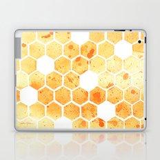 Golden Honeycomb Laptop & iPad Skin
