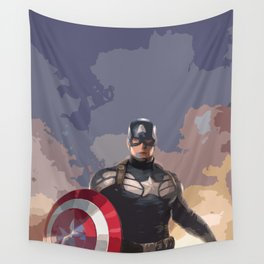 Captain of America Wall Tapestry