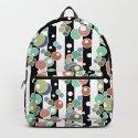 Colorful polka dots pattern by fuzzyfox85