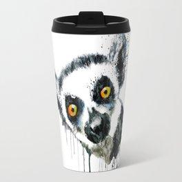 Lemur Head Travel Mug