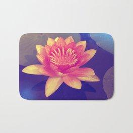 Secret Garden   Water lily  Bath Mat