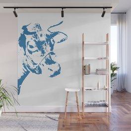Follow the Herd - Blue #154 Wall Mural