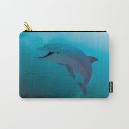 Dolphin's Greeting Carry-All Pouch