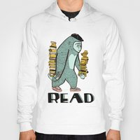 read Hoodies featuring READ by Zachariah  OHora