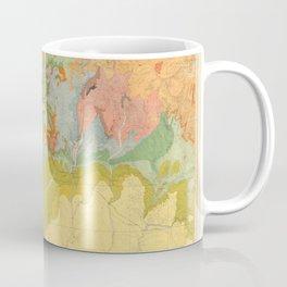 Vintage Southwest Map Coffee Mug