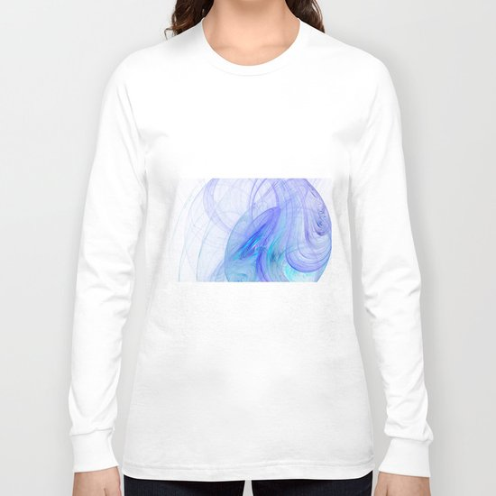 In the blue   (A7 B0218) Long Sleeve T-shirt